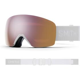Smith Skyline Snow Goggles, wit/roze